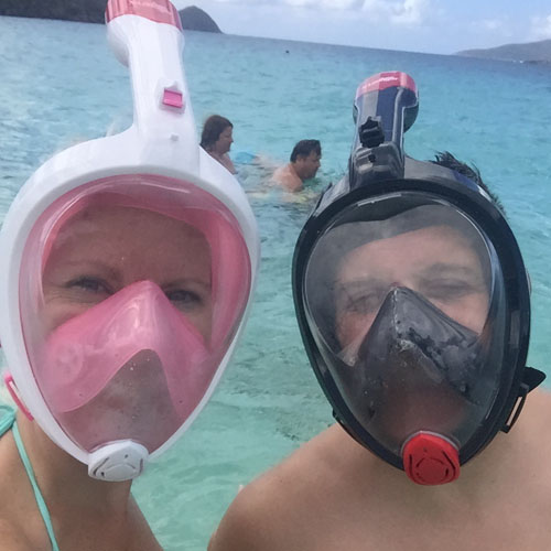 snorkel masks Pictures